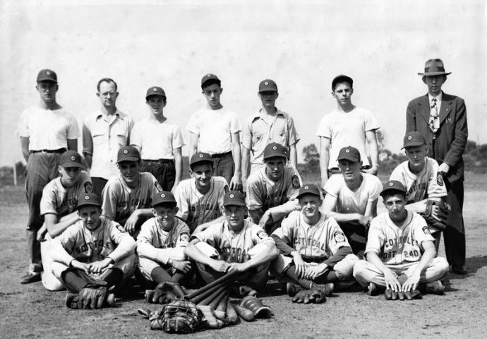 1946 American Legion Junior Baseball team