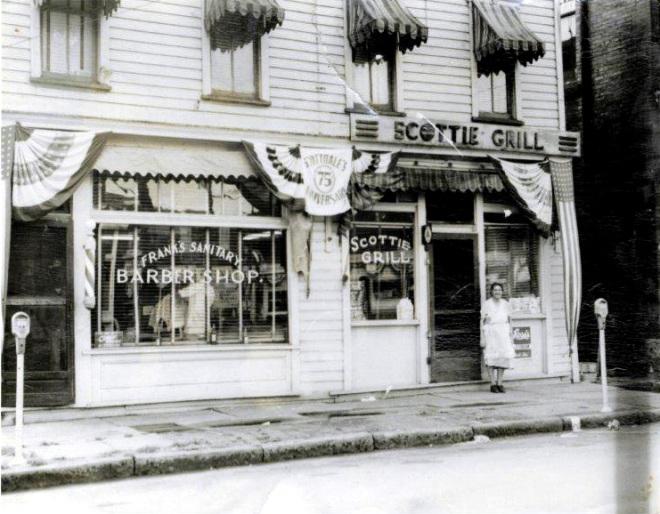 Davis Barber Shop & Scottie Grill