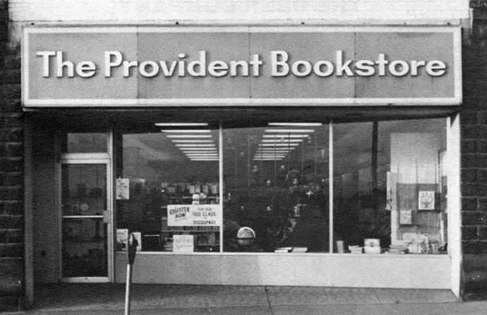 Provident Bookstore 1965