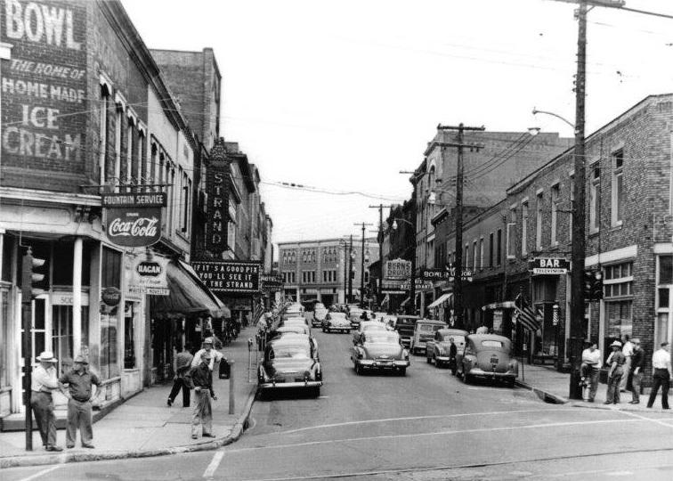 Pittsburgh Street Looking West