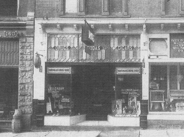 Hoffman's Drug Store Exterior