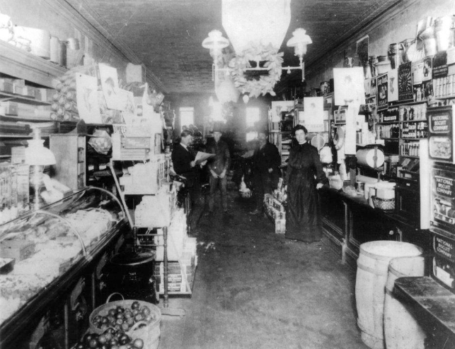 Porter and Stoner Store Interior